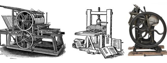 Curiozitati diverse: Istoria Tiparului