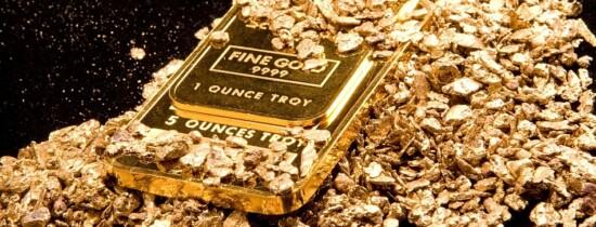 Cutremurele formează depozite de aur