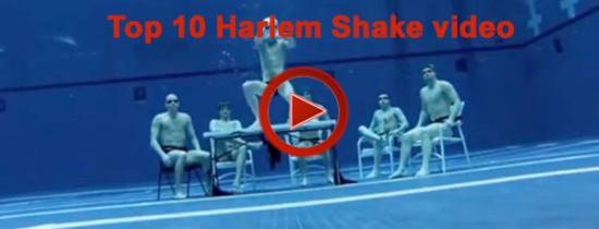 """10 cele mai bune """"Harlem Shake"""" clipuri"""
