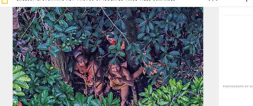 Imagini INCREDIBILE surpind modul de viaţă al unuia dintre cele mai izolate triburi din Brazilia. ,,Este extrem de emoţionant''