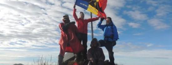 Alpinista din România, Dor Geta Popescu (13 ani), RECORD mondial după ce a urcat pe Vîrful Giluwe, cel mai înalt vulcan din Pacific