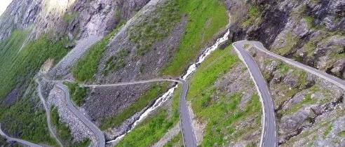 Cum arată Drumul Trolilor, unul dintre cele mai spectaculoase drumuri din Europa