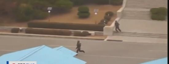 VIDEO. Camerele de supraveghere de la graniţa dintre cele două Corei au suprins momentul în care un soldat nord-coreean a evadat în sud