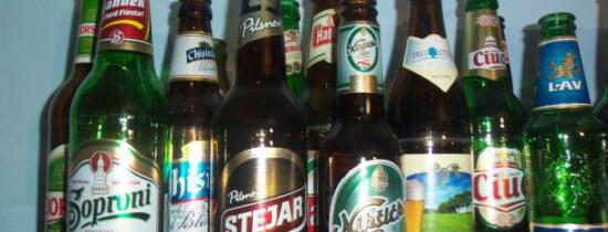 De ce sticla de bere este verde sau maro