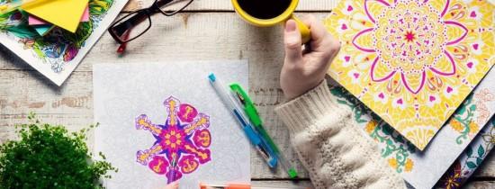 Beneficiile cărţilor de colorat pentru adulţi. Au fost utilizate încă din 1930