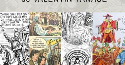 Benzi desenate din celebra revistă Cutezătorii, expuse la Muzeul Municipiului Bucureşti