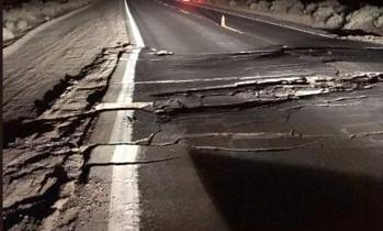Fisură masivă, vizibilă din spaţiu, în urma cutremurului din California