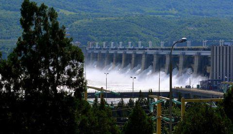 Porţile de Fier I, cea mai mare hidrocentrală de pe Dunăre - 100 de ani in 100 de momente