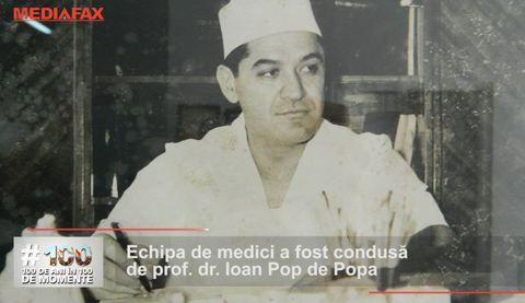 Prima operaţie pe cord deschis din România - 100 de ani în 100 de momente